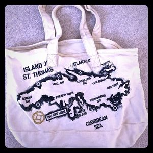J. Crew St. Thomas canvas bag